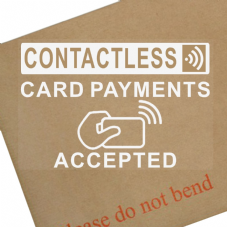 Contactless Card Payments Accepted-Sticker,Shop,Till,Pay,Sign,Notice,Kiosk